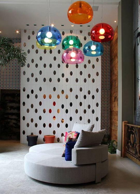 Designer Ivan Moreira loja Nova Arte  Biombo Mentha Drip_ pet branco